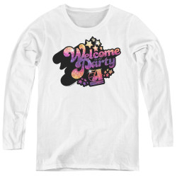 Image for Studio 54 Women's Long Sleeve T-Shirt - Welcome to the Party