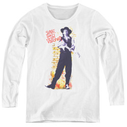 Image for Stevie Ray Vaughan Women's Long Sleeve T-Shirt - Standing Tall