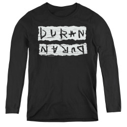 Image for Duran Duran Women's Long Sleeve T-Shirt - Print Error