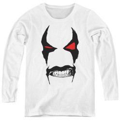 Image for Lobo Women's Long Sleeve T-Shirt - Big Face