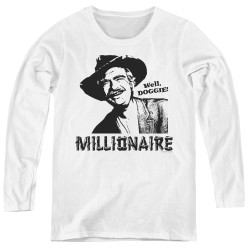 Image for The Beverly Hillbillies Women's Long Sleeve T-Shirt - Millionaire