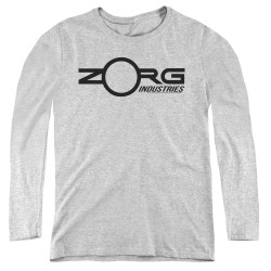 Image for The Fifth Element Women's Long Sleeve T-Shirt - Zorg Corporate Logo