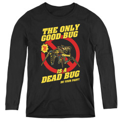 Image for Starship Troopers Women's Long Sleeve T-Shirt - Dead Bug