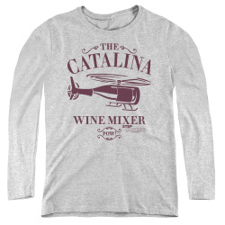 Image for Step Brothers Women's Long Sleeve T-Shirt - The Catalina Wine MIxer