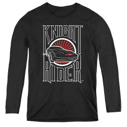 Image for Knight Rider Women's Long Sleeve T-Shirt - Logo