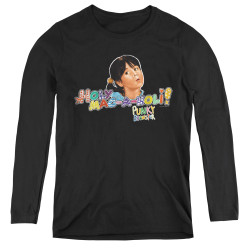 Image for Punky Brewster Women's Long Sleeve T-Shirt - Holy Mac a Noli