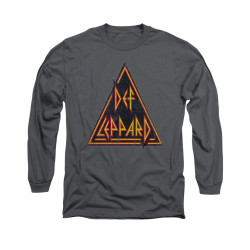 Image for Def Leppard Long Sleeve T-Shirt - Distressed Logo