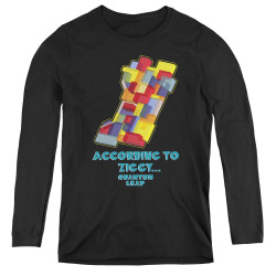 Image for Quantum Leap According to Ziggy... Women's Long Sleeve T-Shirt