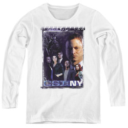 Image for CSI NY Women's Long Sleeve T-Shirt - Watchful Eye