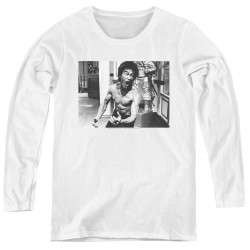Image for Bruce Lee Women's Long Sleeve T-Shirt - Full of Fury