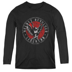 Image for Velvet Revolver Women's Long Sleeve T-Shirt - Circle Logo