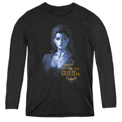 Image for Batman Arkham Asylum Women's Long Sleeve T-Shirt - Arkham Poison Ivy