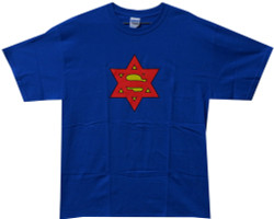 Image Closeup for Super Jew T-Shirt