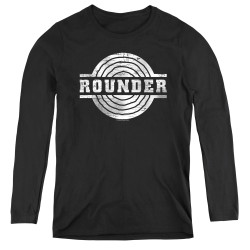 Image for Rounder Records Women's Long Sleeve T-Shirt - Retro Logo