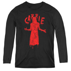 Image for Carrie Women's Long Sleeve T-Shirt - Silhouette