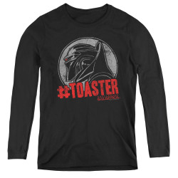 Image for Battlestar Galactica Women's Long Sleeve T-Shirt - #Toaster