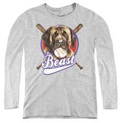 Image for The Sandlot Women's Long Sleeve T-Shirt - the Beast