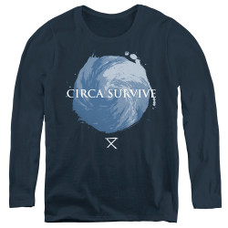 Image for Circa Survive Women's Long Sleeve T-Shirt - Storm