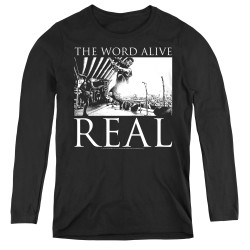 Image for The Word Alive Women's Long Sleeve T-Shirt - Live Shot