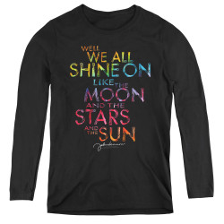 Image for John Lennon Women's Long Sleeve T-Shirt - All Shine On
