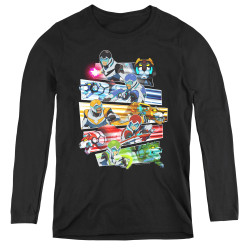 Image for Voltron: Legendary Defender Women's Long Sleeve T-Shirt - Paladins Strike