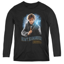 Image for Fantastic Beasts: the Crimes of Grindelwald Women's Long Sleeve T-Shirt - Scamander Monogram