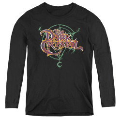 Image for The Dark Crystal Women's Long Sleeve T-Shirt Symbol Logo