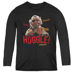Image for Labyrinth Women's Long Sleeve T-Shirt - Hoggle