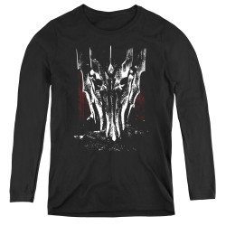 Image for Lord of the Rings Women's Long Sleeve T-Shirt - Big Sauron Head