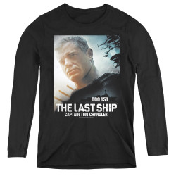 Image for The Last Ship Women's Long Sleeve T-Shirt - Captain