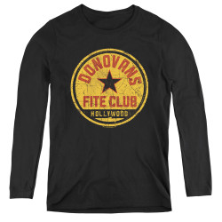 Image for Ray Donovan Women's Long Sleeve T-Shirt - Fite Club