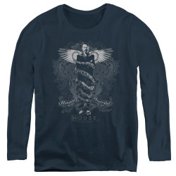 Image for House Women's Long Sleeve T-Shirt - Humanity is Overrated