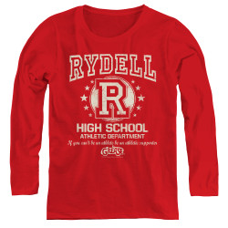 Image for Grease Women's Long Sleeve T-Shirt - Rydell High