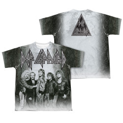 Image Closeup for Def Leppard Sublimated Youth T-Shirt - the Band