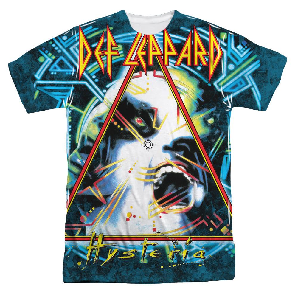 c5271819ace Def Leppard T-Shirt - Hysteria - NerdKungFu