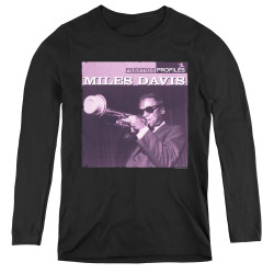 Image for Miles Davis Women's Long Sleeve T-Shirt - Prince
