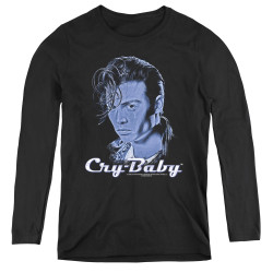 Image for Cry Baby Women's Long Sleeve T-Shirt - King Cry Baby