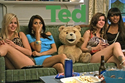 Image for Ted Poster - Girls on Couch