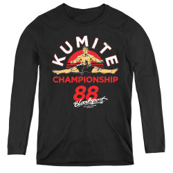 Image for Bloodsport Women's Long Sleeve T-Shirt - Championship 88