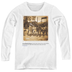 Image for The Sandlot Women's Long Sleeve T-Shirt - Pantywaist