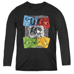 Image for Voltron: Legendary Defender Women's Long Sleeve T-Shirt - Pride