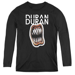 Image for Duran Duran Women's Long Sleeve T-Shirt - Pressure Off