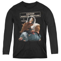 Image for Fantastic Beasts: the Crimes of Grindelwald Women's Long Sleeve T-Shirt - Cuddle Puddle
