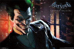 Image for Arkham Origins Poster - the Joker