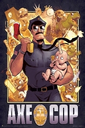 Image for Axe Cop Poster