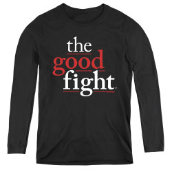 Image for The Good Fight Women's Long Sleeve T-Shirt - Logo