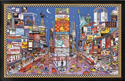 Image for New York Times Square Poster