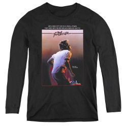 Image for Footloose Women's Long Sleeve T-Shirt - Poster