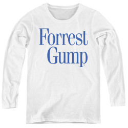 Image for Forrest Gump Women's Long Sleeve T-Shirt - Logo