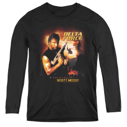 Image for Delta Force Women's Long Sleeve T-Shirt - DF2 Poster